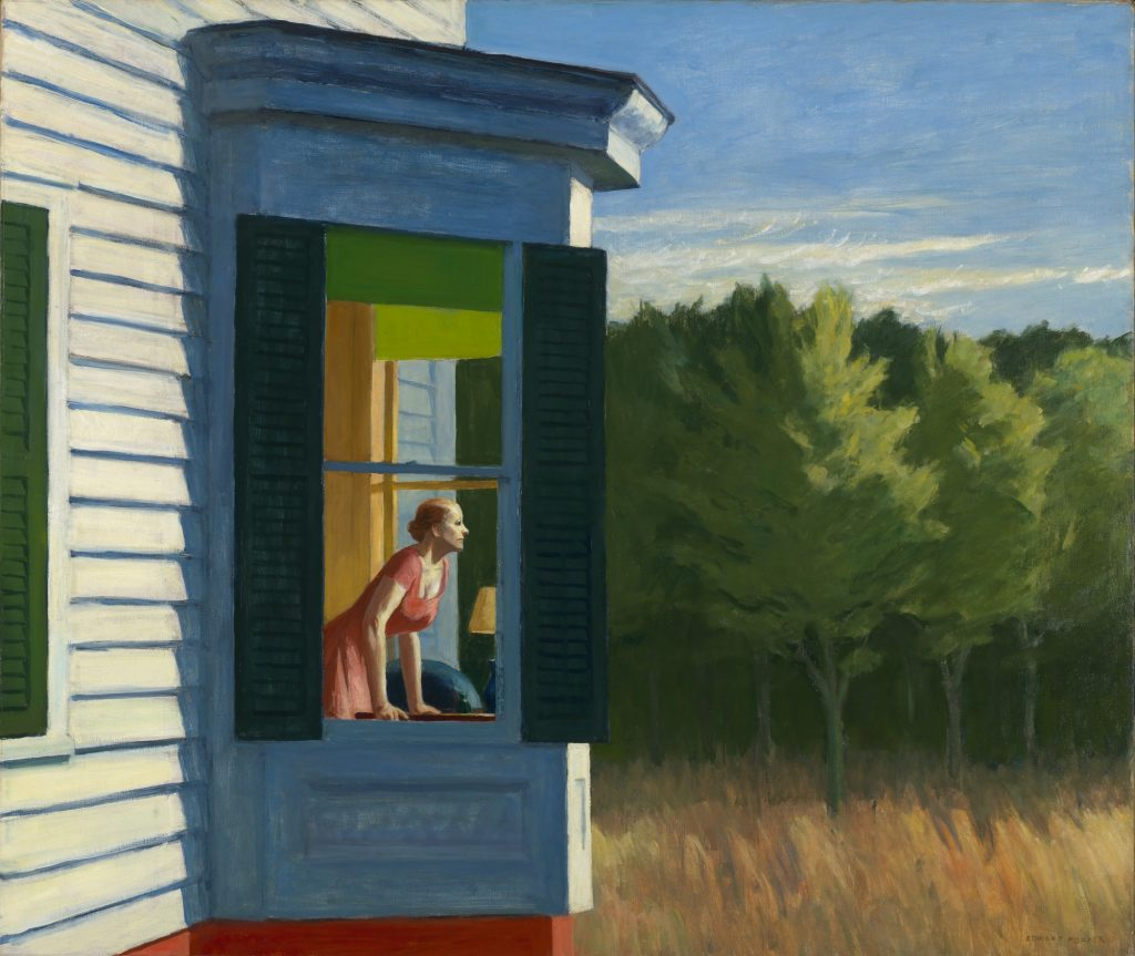 Edward Hopper: Cape Cod Morning