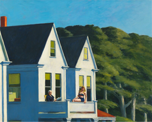 Edward Hopper: Second Story Sunlight