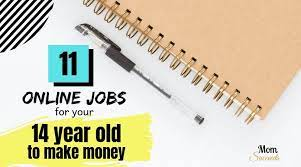5 Types of Online Jobs for 14 Years Olds