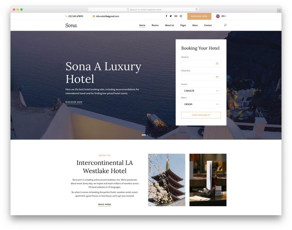 Visiting Attractions and Using Hotel Software